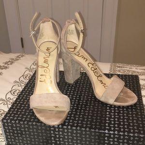 Sam Edelman Yaro suede block heels